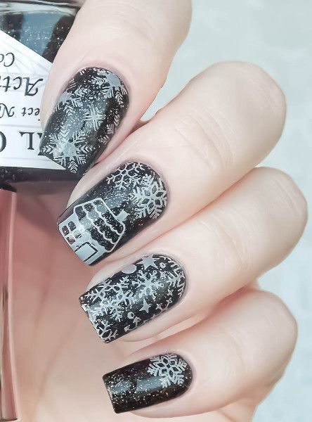 $199 BORN PRETTY 12*6cm Rectangle Nail Art Stamp Template - stamp template