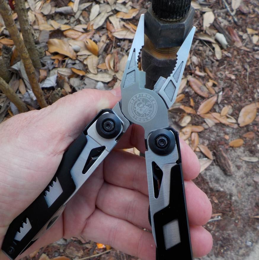 Defiance Tools EDC Pliers Multitool - 16 Tools In 1