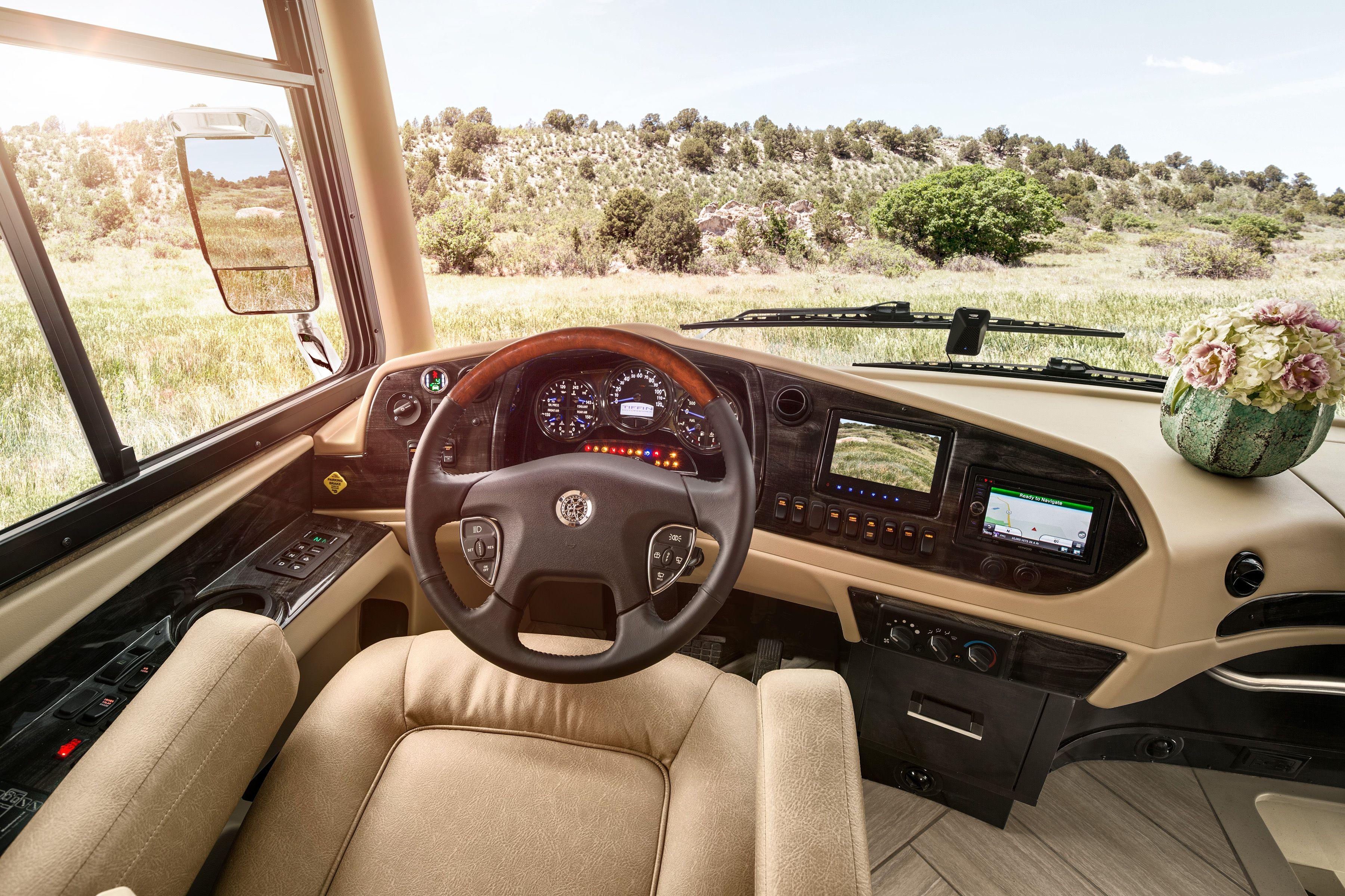2015 Allegro Bus Driver Compartment Cockpit Cockpit Bus Tiffin Motorhomes