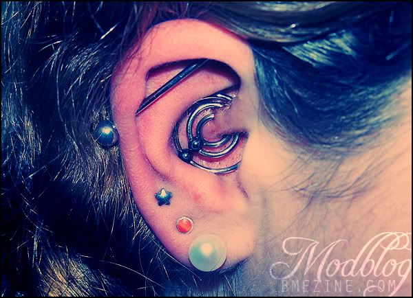 Triple Daith I Bet Wearing Earbuds Is Impossible So Nice Though