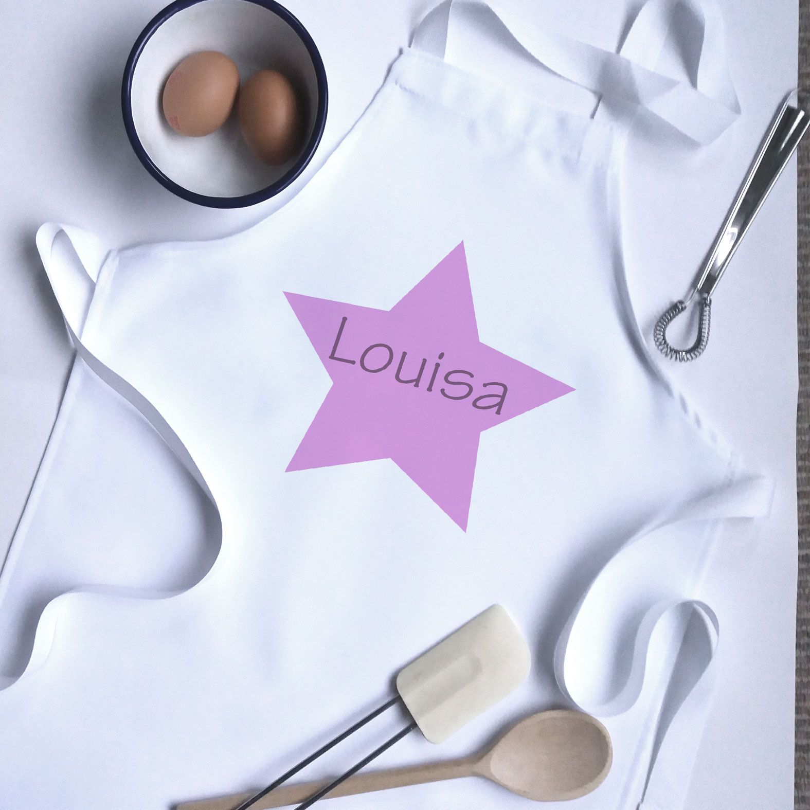 Star Apron Personalized aprons, Kids apron, Personalized