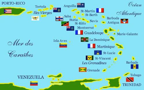 Caribbean Leeward Islands Yacht Charters  St Martin St Barts