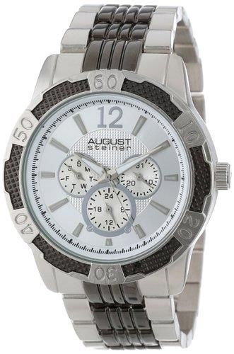 August Steiner Men's AS8058SS Quartz Multi-Function Sport Bracelet Watch - http://yourperfectwatch.com/august-steiner-mens-as8058ss-quartz-multi-function-sport-bracelet-watch/