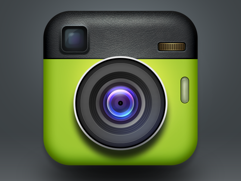 Dribbble Cameras Png By Colin C Camera Mobile Wallpaper Android App Icon Design