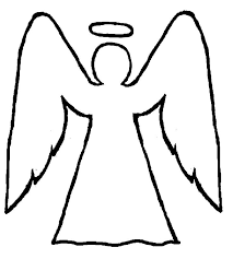Image result for easy Christmas angel drawings