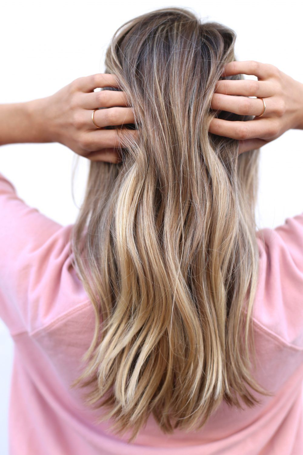 Loose beach waves using Mermaid Hair products | Adorned With Love