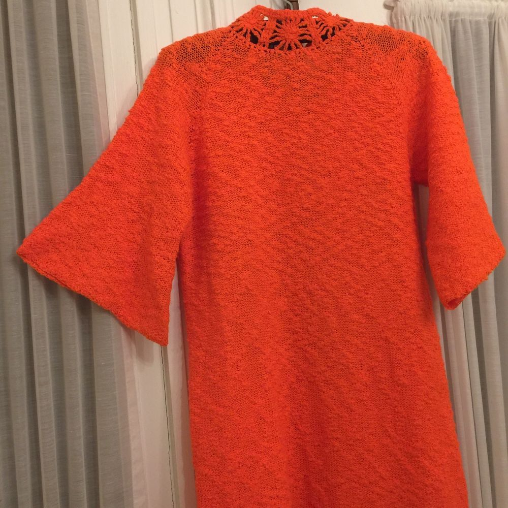 0fca04713a7 VINTAGE 60s 70s ST. JOHN KNITS ORIGINAL Size Small 2 3-4 6 Women ORANGE  DRESS  fashion  clothing  shoes  accessories  vintage   womensvintageclothing (ebay ...