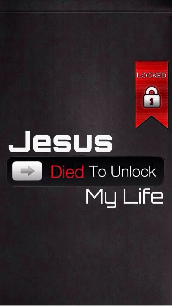 JESUS died for me and you!