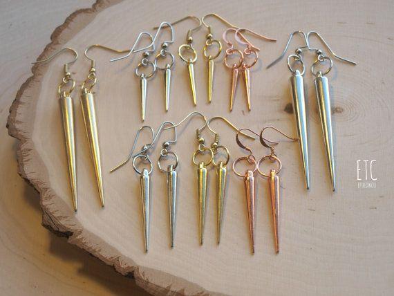 PACK of Spike Earrings