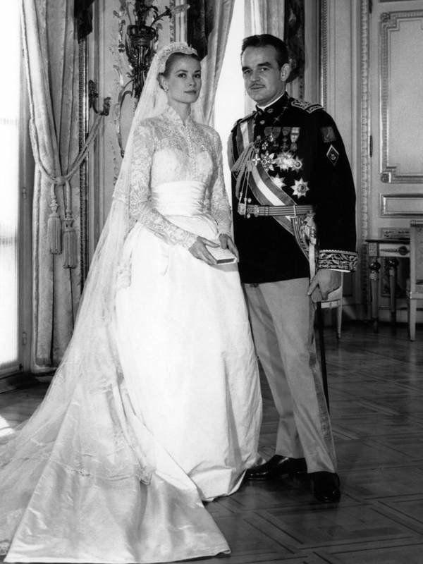 Die schönsten Brautkleider der Hollywood Stars | Prince rainier ...