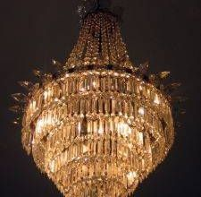 How to make an inexpensive crystal chandelier mi estilo y estilo how to make an inexpensive crystal chandelier aloadofball Gallery