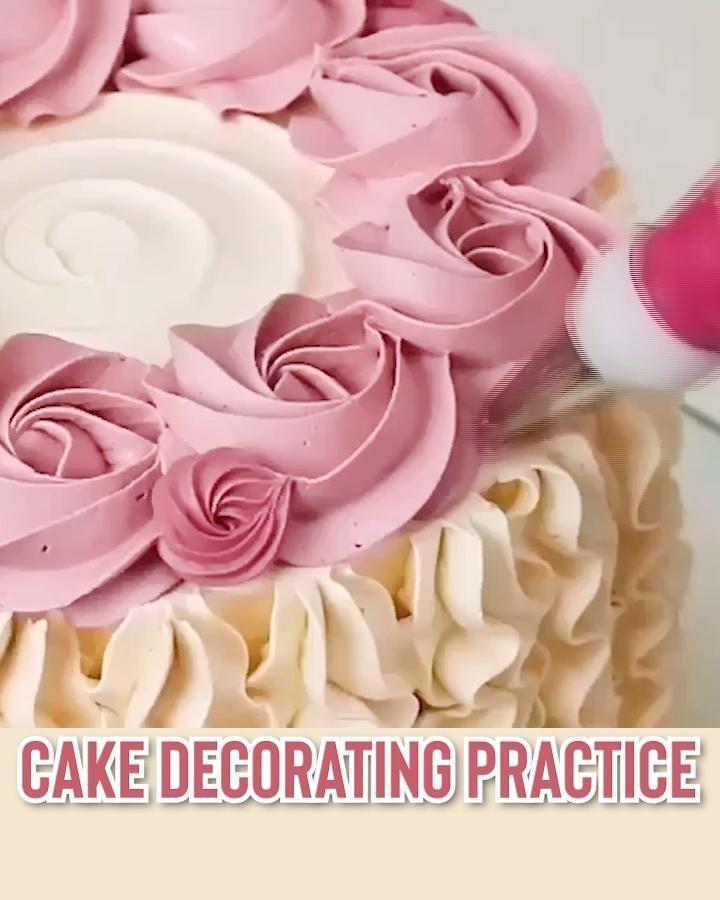 Decorative Cake Practice Set