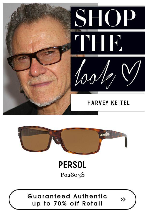 ff32a86b40b Harvey  Keitel wearing  Persol  Eyewear.