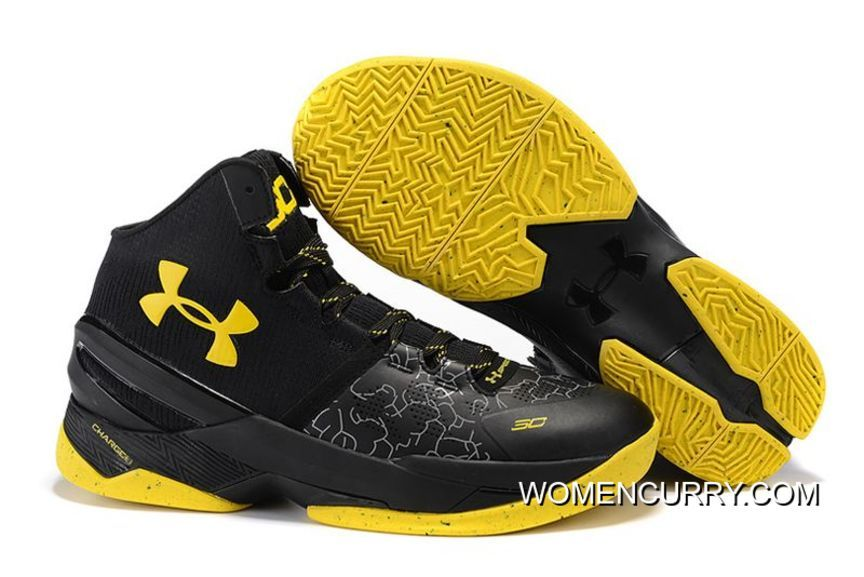 Cheap Under Armour Curry 2 Black Knight