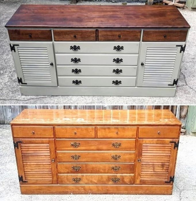 Ethan Allen Dresser Has Found A New Home In #pdx With Dave