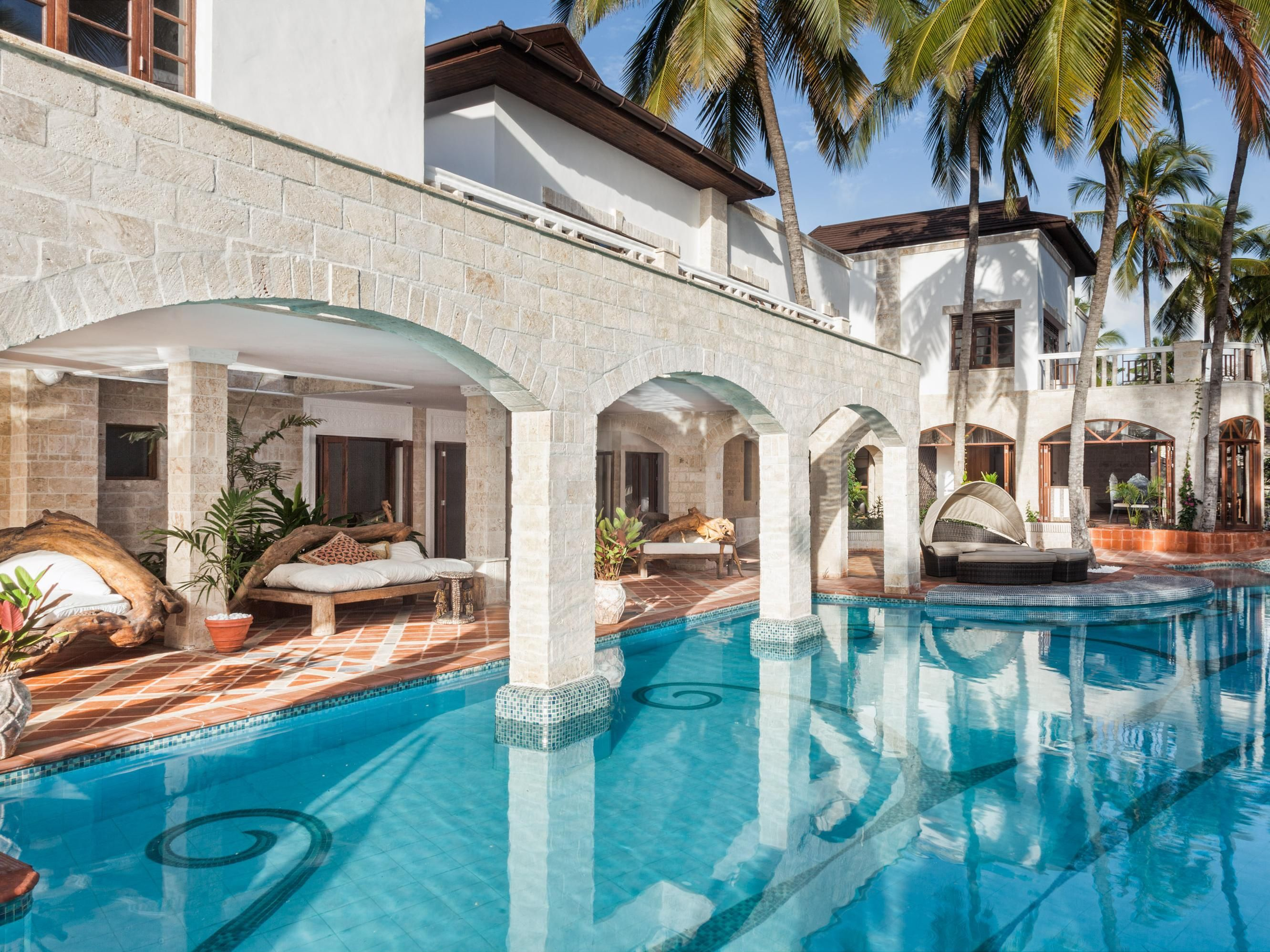 Mombasa The Maji Beach Boutique Hotel Kenya Africa Ideally Located In Prime Touristic Area Of Diani Promises A