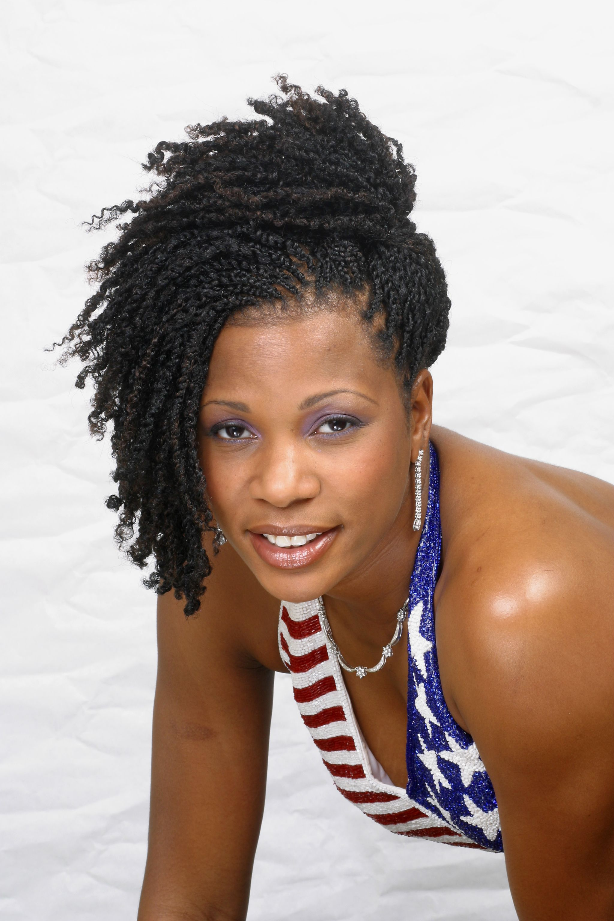 Kinky Twist Hairstyles Afro Kinky Twist Up Do By Chervon Natural Hair Pinterest