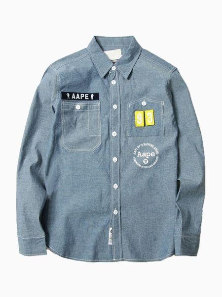 4319e6d1 AAPE Ape Bape Shirt with 93 Patch | NYYN | Bape shirt, Shirts, Kids ...