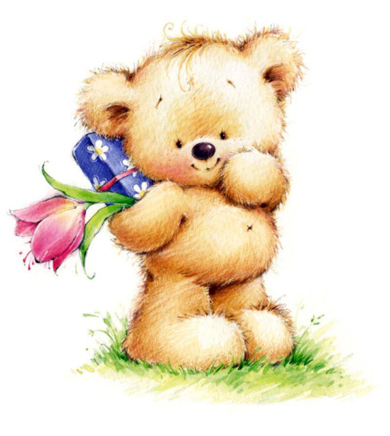 счет нового открытки картинки медвежата одной