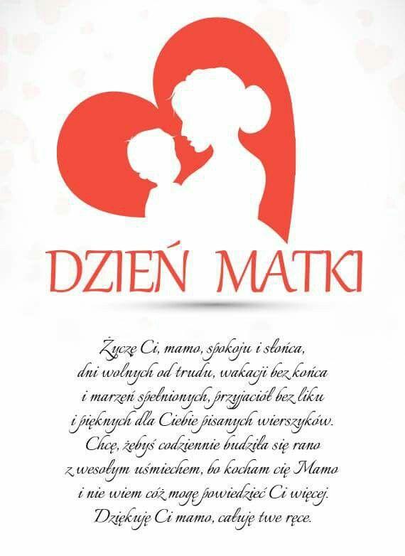 Dzień Mamy Dzień Matki Rękodzieło Na Dzień Matki I