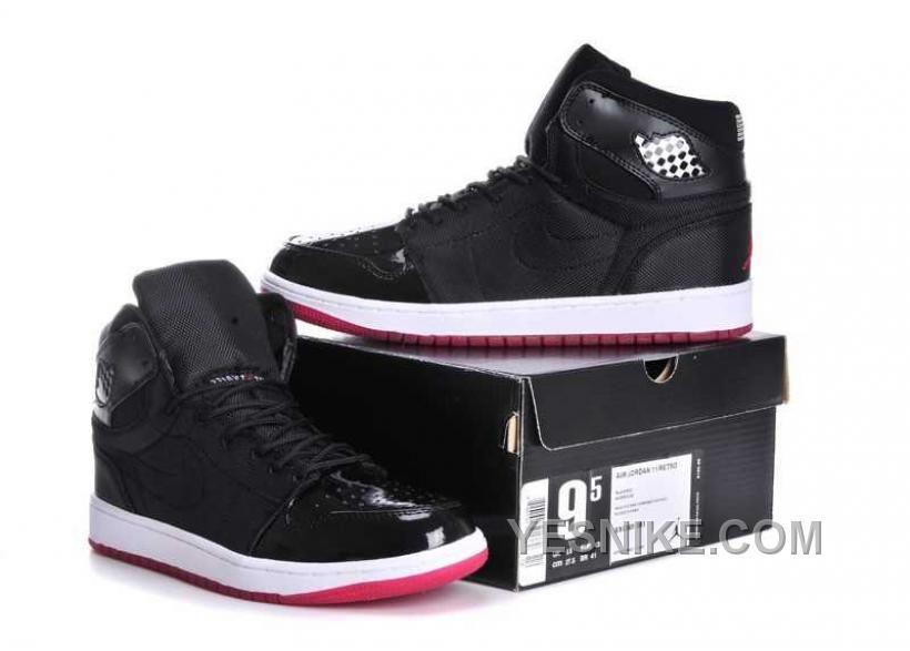 Big Discount 66 OFF Nike Air Jordan 1 Mens Retro 95 Black True White Red Shoes CP4be