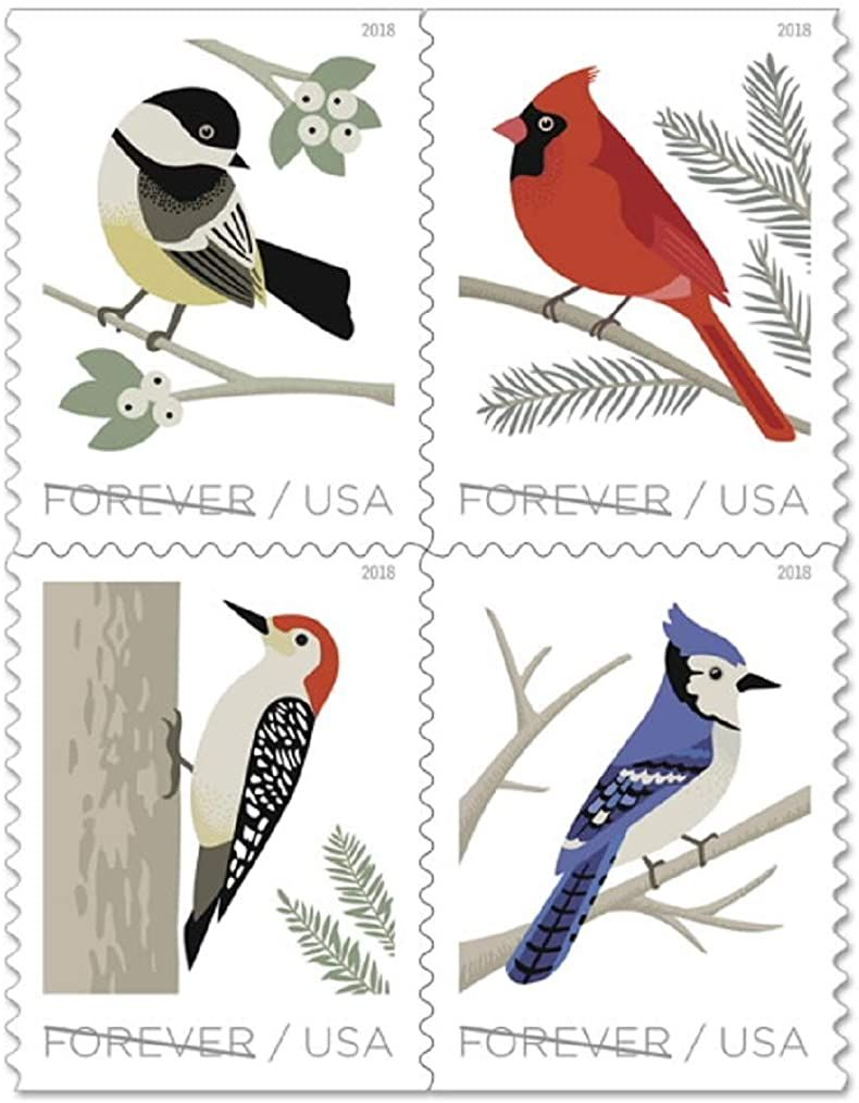 USPS Forever Stamp Sheets Featuring Birds (2 Sheets, Birds
