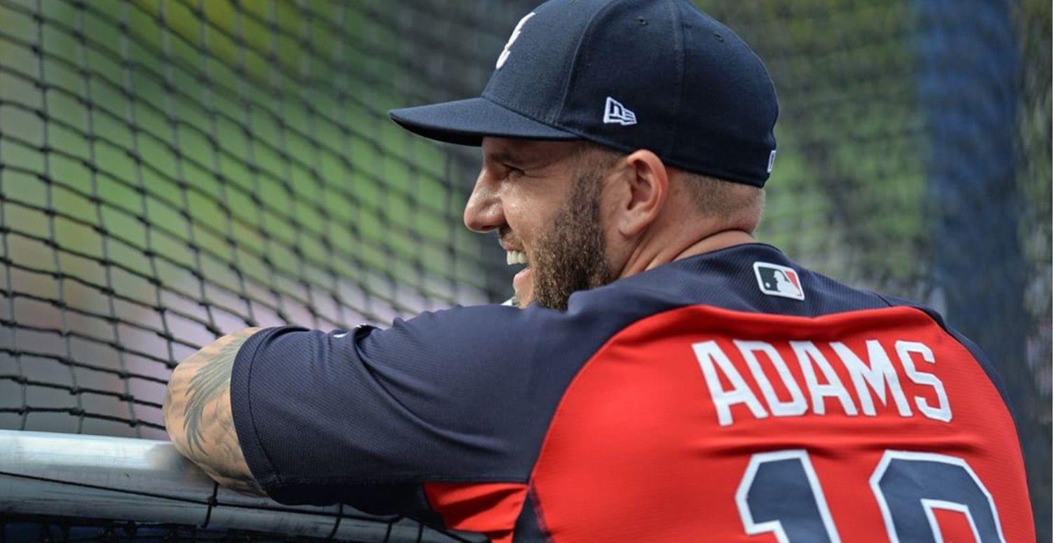 Matt Adams 2017 Atlanta braves, Atlanta braves baseball
