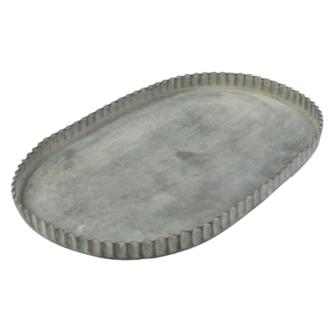 Oval Zinc Trays/18.