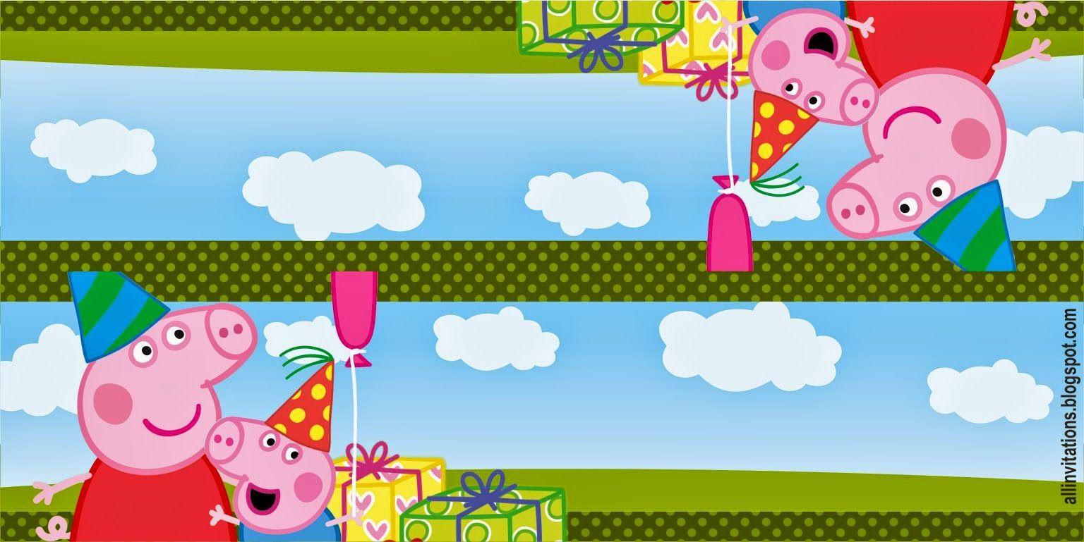 Etiqueta Bolsa de Dulces Peppa Pig | Peppa pig | Pinterest | Bolsas ...