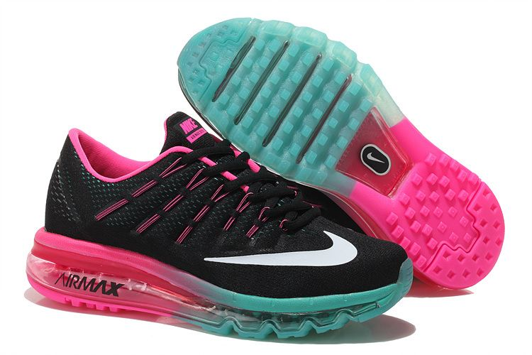 Nike Air Max 2016 Womens Shoes Pink Black Selling in 2019