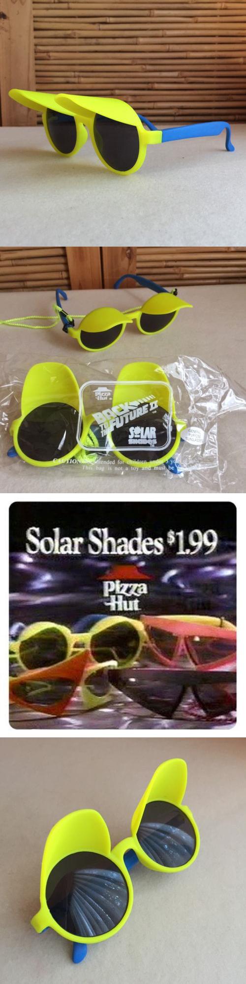 ddfe23de89 Sunglasses 48559  Retro Vintage 1989 Back To The Future Ii Pizza Hut Sci-Fi  Promo Sunglasses -  BUY IT NOW ONLY   45 on eBay!