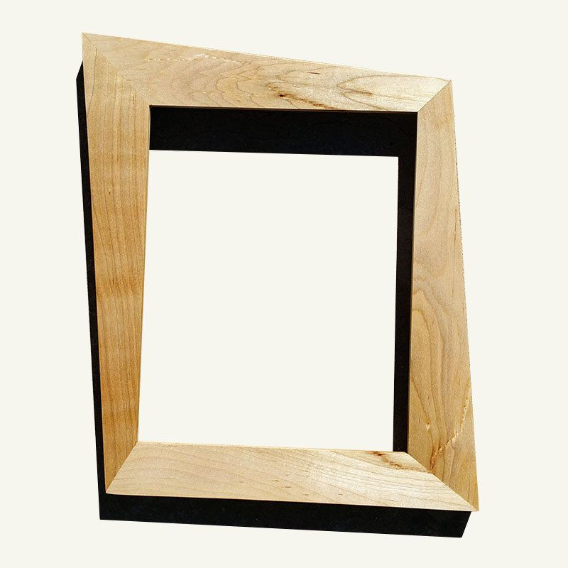 Trapezoid Mid Century Modern Picture Frame Made With Maple By Everythingmodern On Etsy