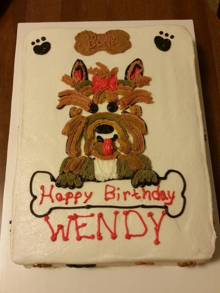 Yorkie Birthday Cake JeannieCakes Pinterest