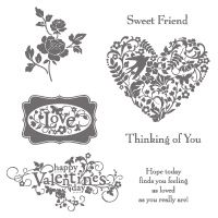 You Are Loved (Clear 123779) Australia Only - Buy Online now:  http://www.stampinup.net/esuite/home/suewdowik/#