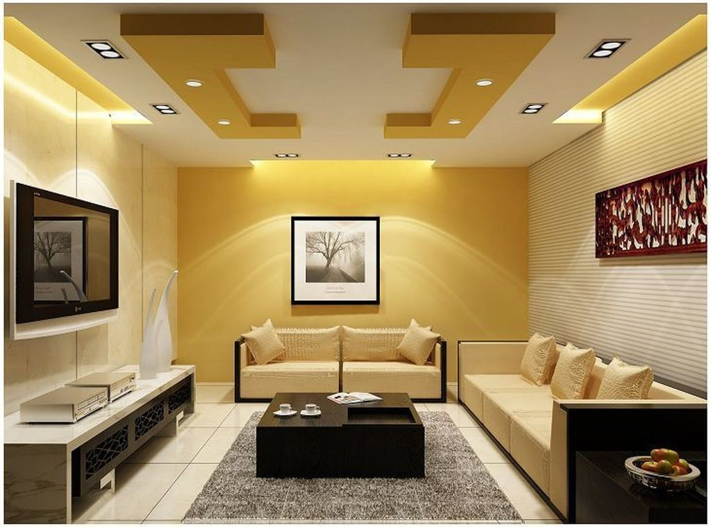 44 Relaxing Drywall Designs Ideas For Living Room Ceiling Design
