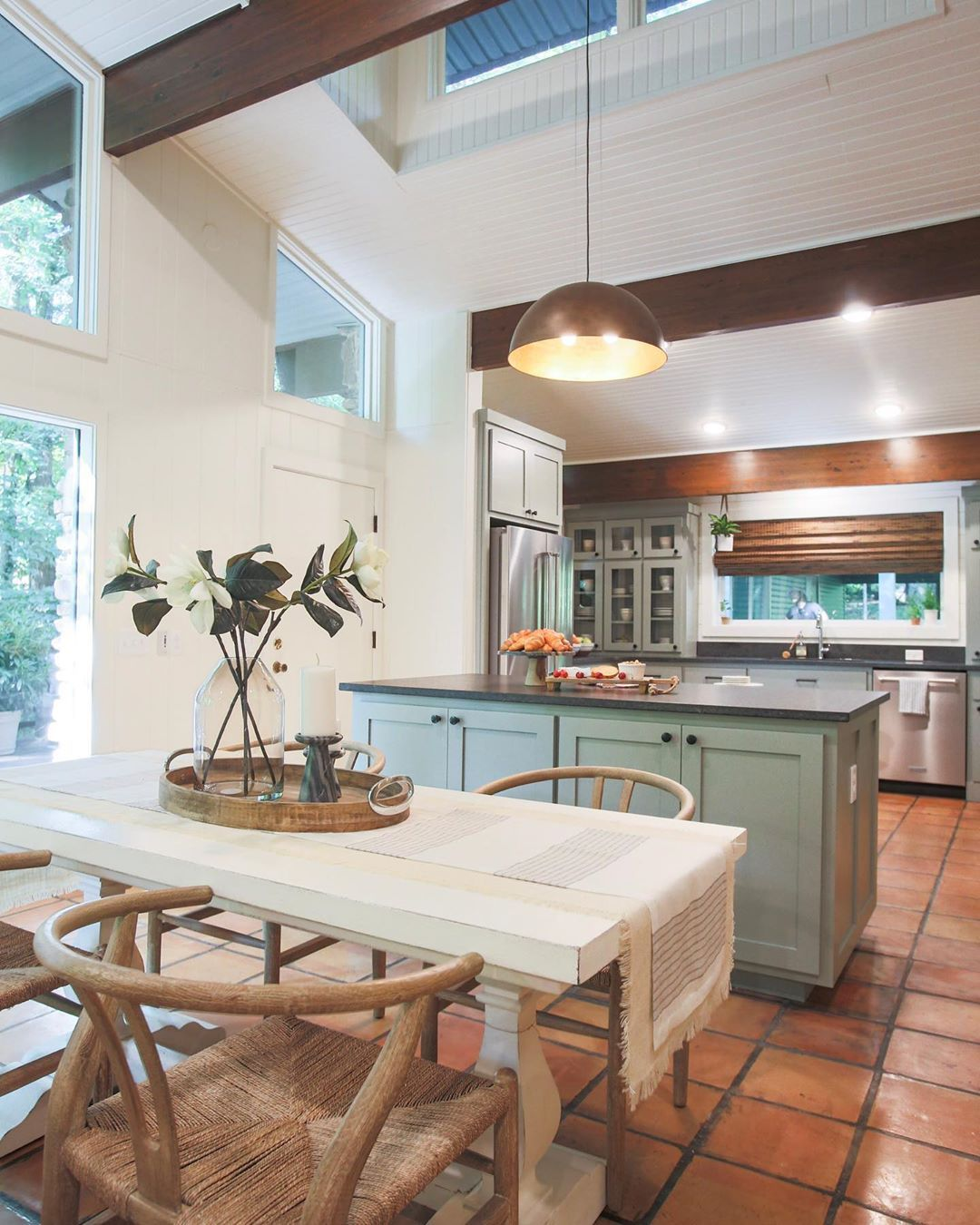 25 Windowless Kitchen Design Ideas: HGTV Fixer To Fabulous Kitchen And Dining Room For