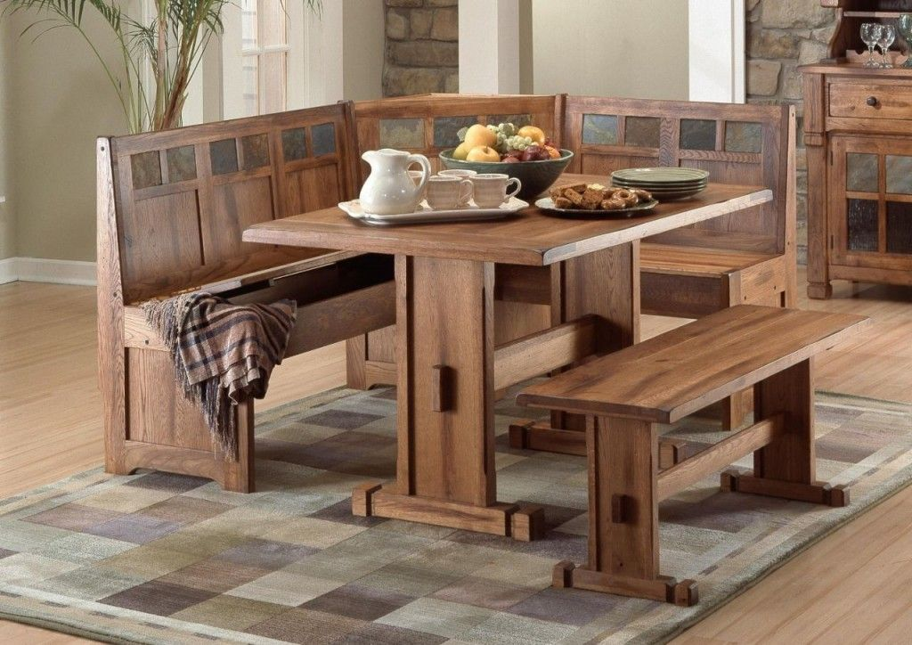 Brilliant Kitchen Corner Bench Seating Rustic For The Home In 2019 Home Interior And Landscaping Oversignezvosmurscom