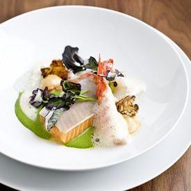 A dish from Aquavit via www.LuxeCrush.com