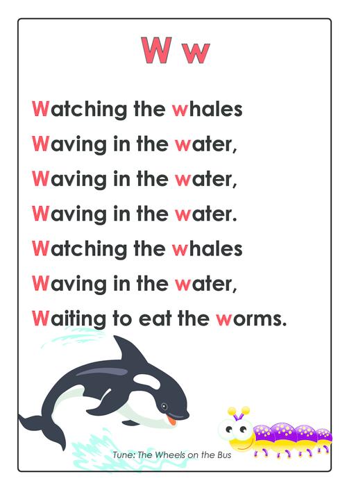 ABC Rhymes Posters Bundle