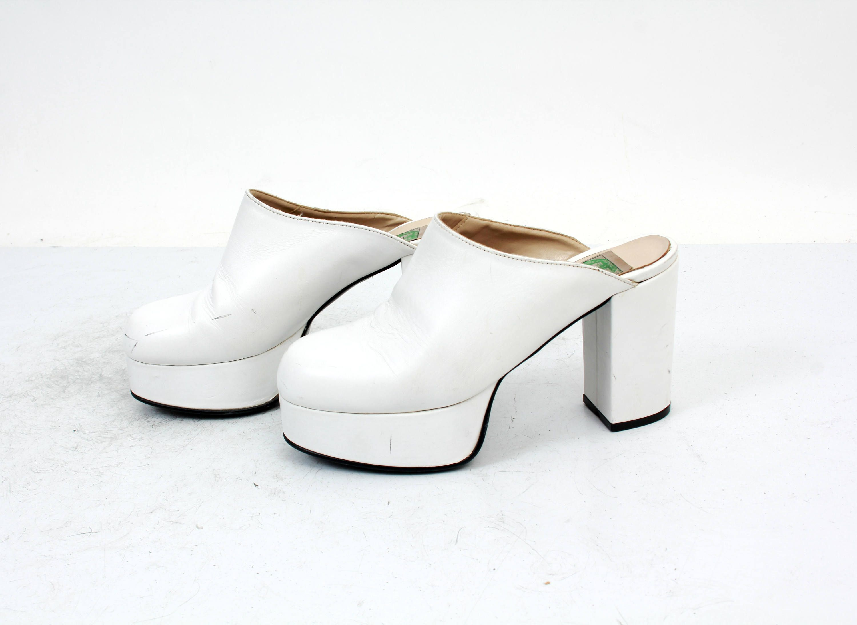 90s Chunky Heel Shoes Club Kid Shoes Chunky Heel Shoes