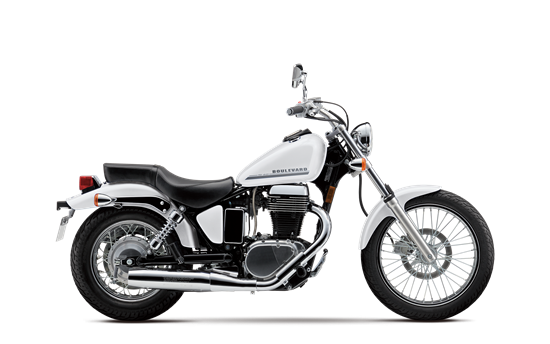 The Suzuki Boulevard S40 takes a timeless single-cylinder