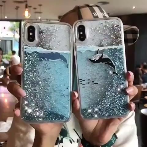 Dynamic Liquid Quicksand Samsung Case