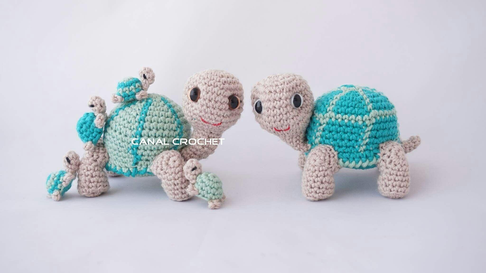 Tortugas amigurumi tutorial, YouTube canal crochet | amigurumis ...