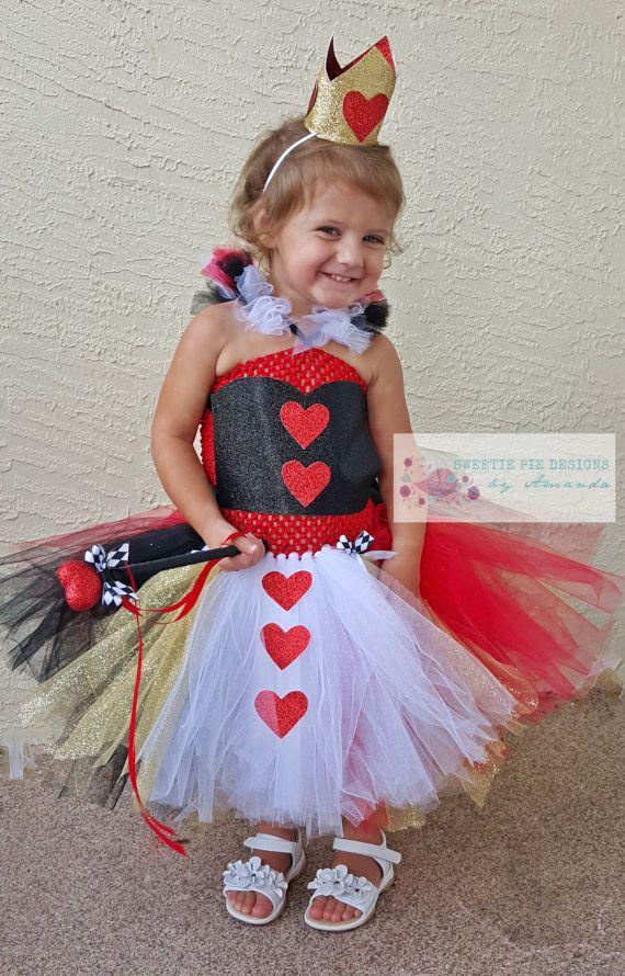Queen of Hearts Inspired Tutu Dress Costume   Tutu dress ...