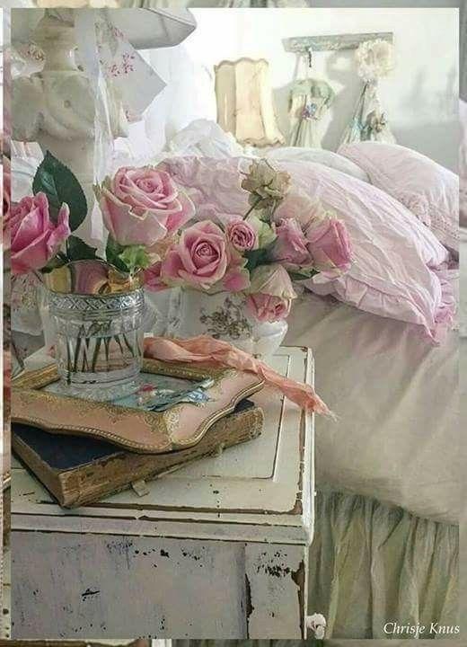 Pin De Floretta Canalizo En Shabby Chic Pinterest Decoracion - Decoracion-romantica-vintage