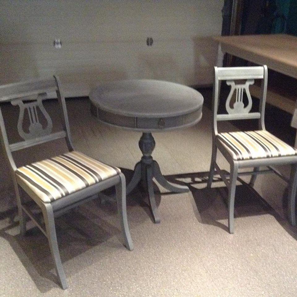 Restoration Hardware Inspired Harp Back Chair Set In Superior