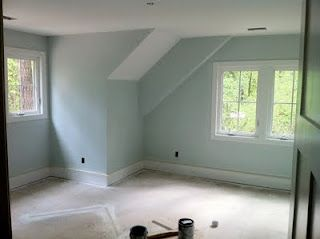 Paint Color Topsail Blue Sherwin Williams For The Master Bedroom