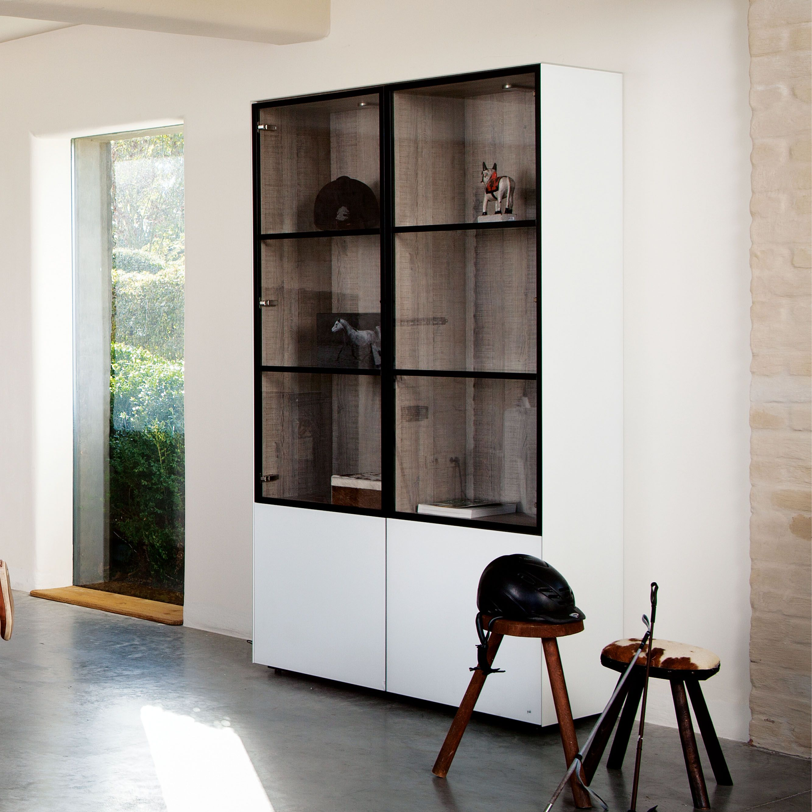 Cube 193 Cosy 2 doors chassis melamine
