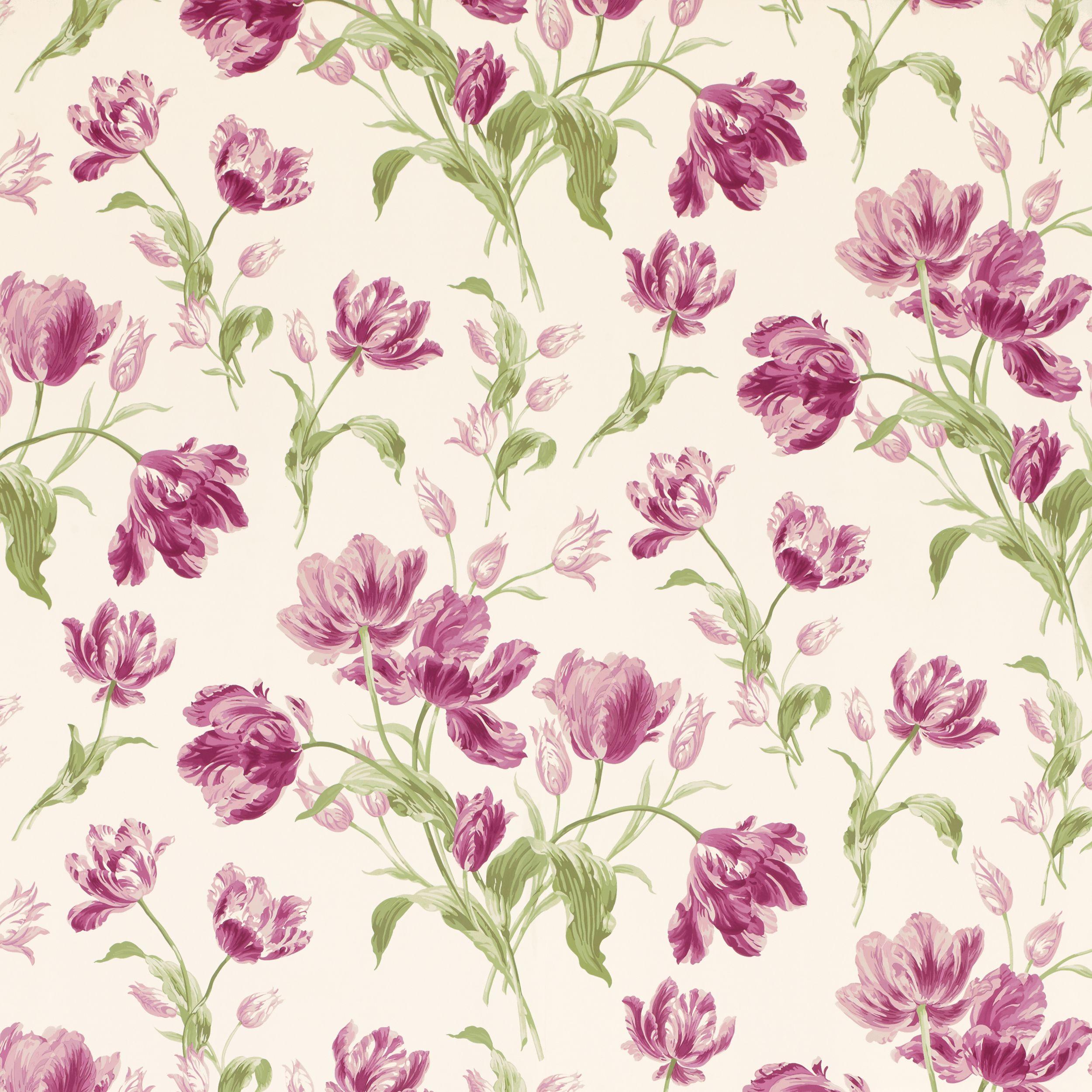 Laura Ashley Kitchen Wallpaper: Gosford Meadow Berry Wallpaper At Laura Ashley
