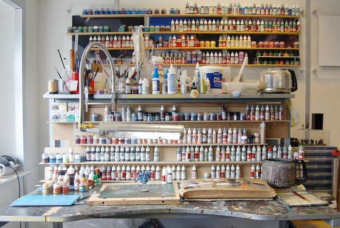 Great Paint Racks Hobby Ideas Pinterest Bench Models And Scale